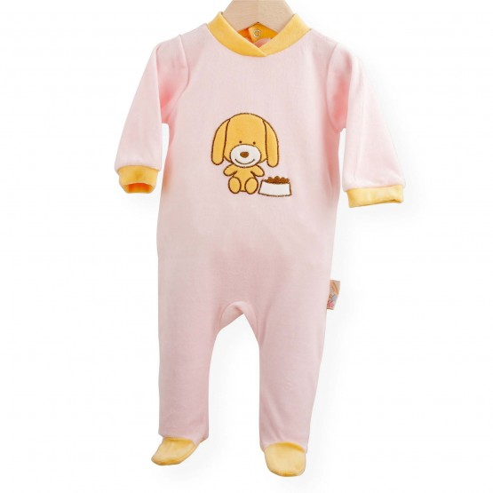 "Baby sleepsuit ""Woof"""