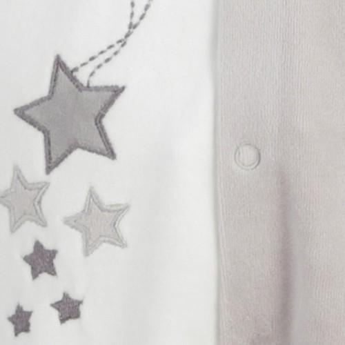 Newborn sleepsuit Stars