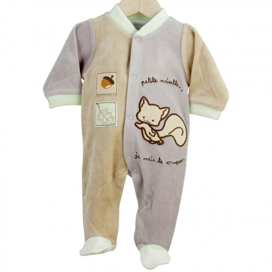 "Newborn sleepsuit ""Little hazelnut"""