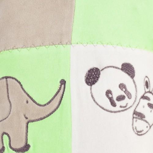 "Baby sleepsuit ""My favorite animals"""