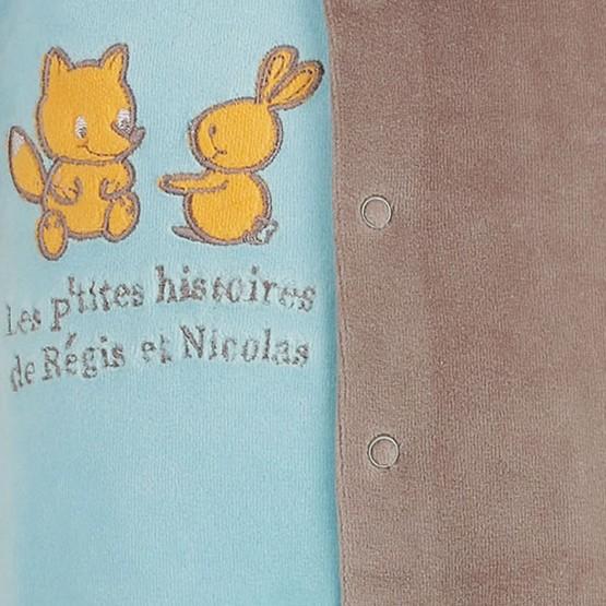 Newborn sleepsuit Régis & Nicolas