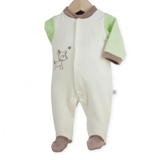 "Newborn sleepsuit ""Fawn"""