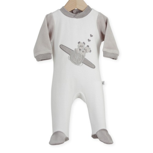 """Baby sleepsuit """"Mouse Airman"""""""