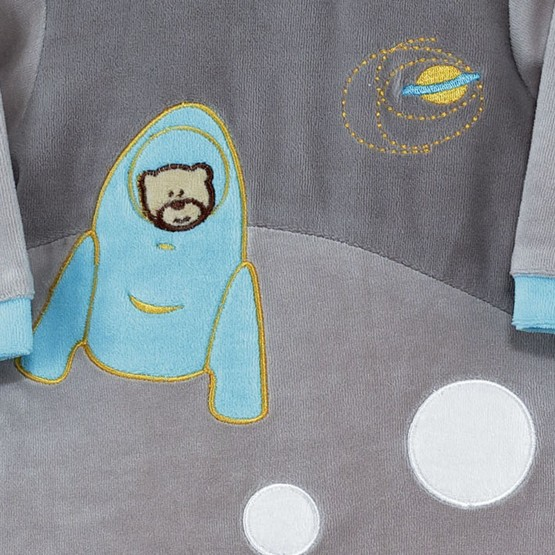 "Baby sleepsuit ""Sleepy planet"""