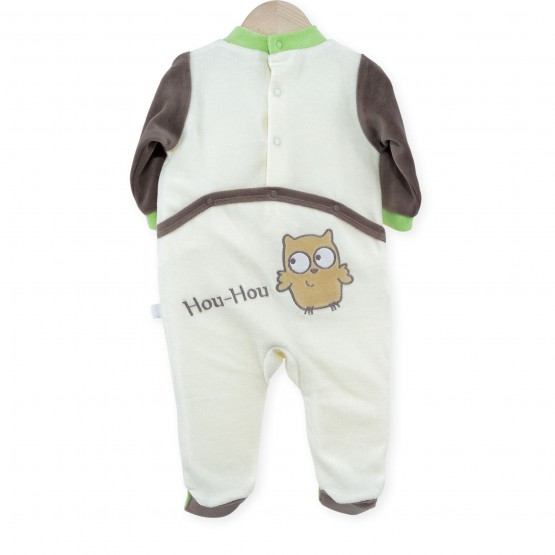 "Baby sleepsuit ""Owls"""