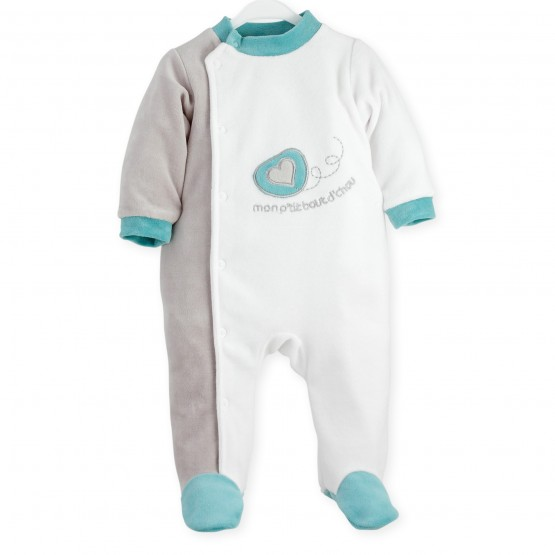 "Newborn sleepsuit  ""My little darling"""