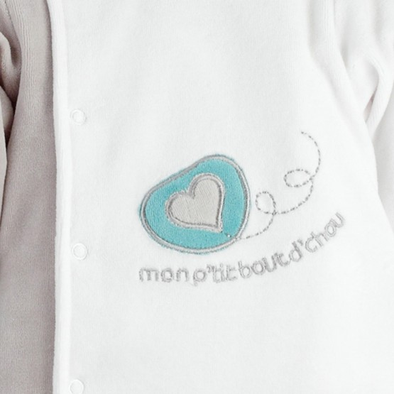 "Sleepsuit for baby boys ""My little darling"""