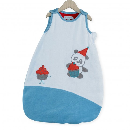 "Baby boy sleeping bag 65 cm ""Cupcake"""