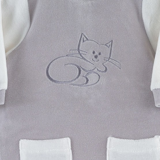 "Unisex sleepsuit ""Little Cat"""