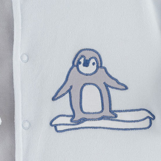 "Newborn sleepsuit ""Auk"""