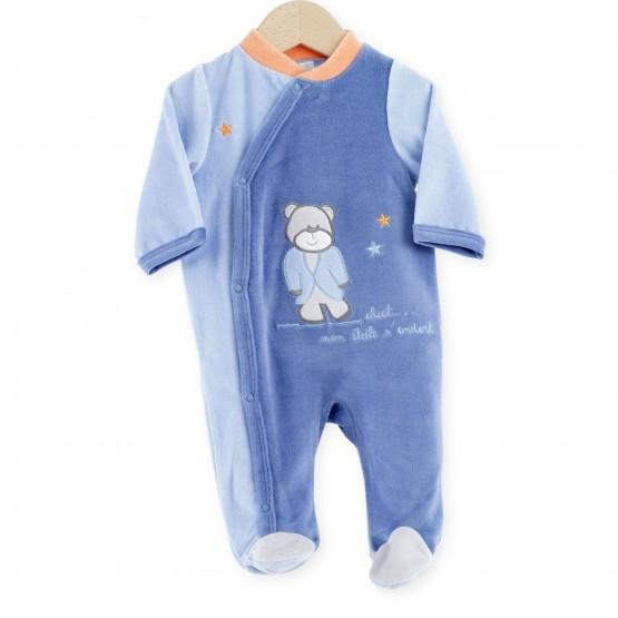 "Newborn Sleepsuit ""Galaxy & Cie"""