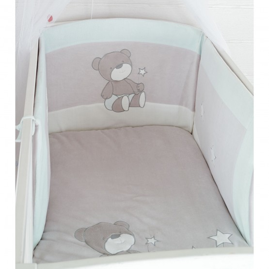 Protectores de cuna y edred n beb les kinousses - Protectores para cama cuna ...