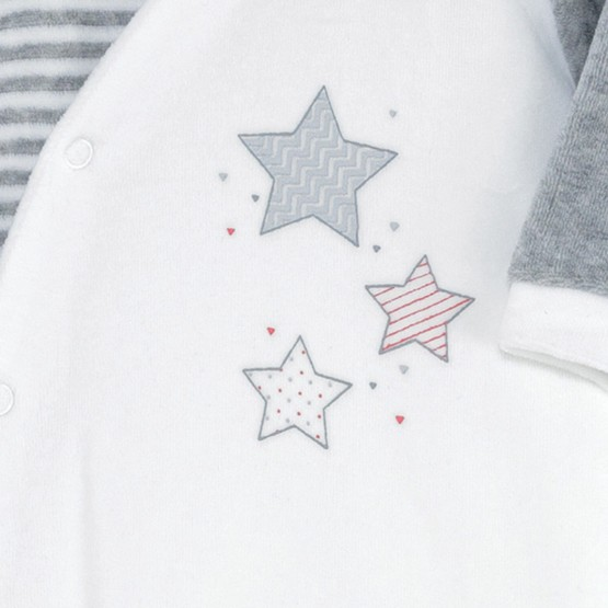 "Newborn sleepsuit ""Little Stars"""