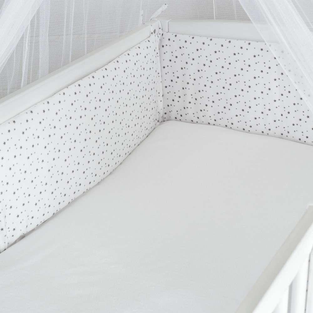 tour de lit sp cial pour lit b b en position haute kinousses. Black Bedroom Furniture Sets. Home Design Ideas