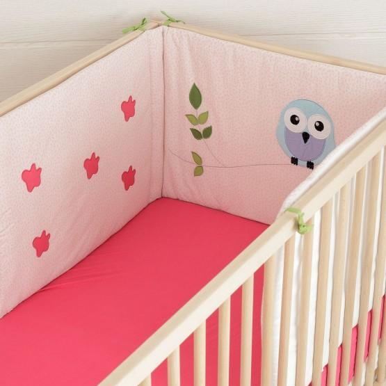 collection linge de lit b b fille les kinousses. Black Bedroom Furniture Sets. Home Design Ideas