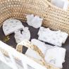 Kit naissance – Arc en ciel blanc/gris (6 pièces)
