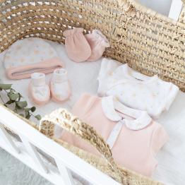 Kit naissance fille – Arc en ciel (6 pièces)