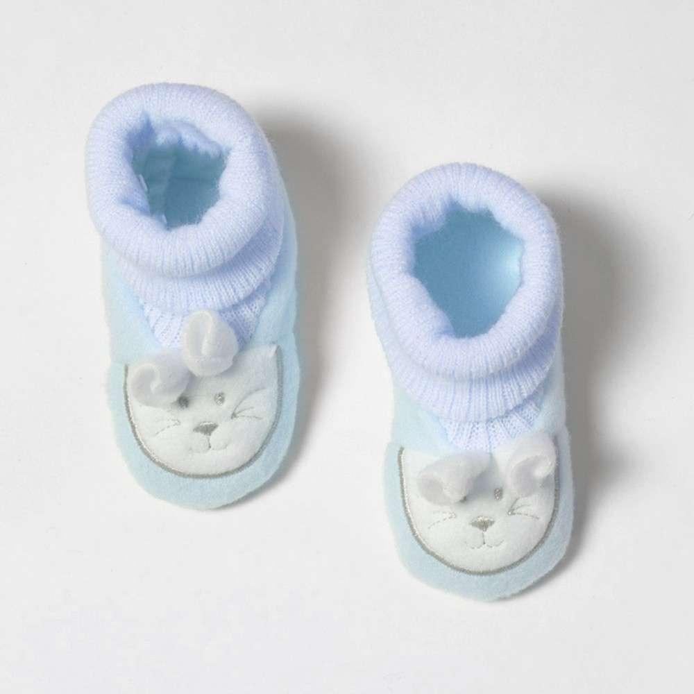 1 paire de chaussons Lapinou