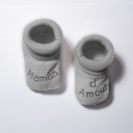 Birth booties - Maman d'amour