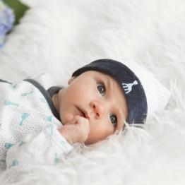 Birth baby boy hat - Sophie la girafe® 60 years