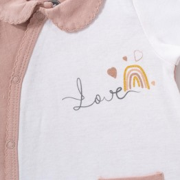 Pyjama coton bébé – Arc en ciel