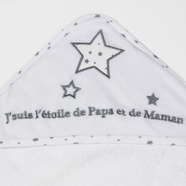 Bath set 70 x 70cm + face flannel - My Star