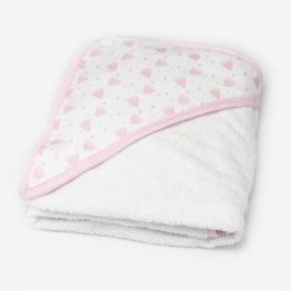 Baby bath towel - Watermelons