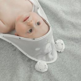 Sortie de bain bébé - Martin + boîte cadeau