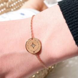 """Gold plated bracelet """"Meilleure maman du monde entier"""""""