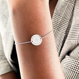 """Bracelet argent """"Meilleure maman du monde entier"""""""
