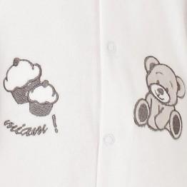 """Pijama recién nacido """"Pastelito"""""""