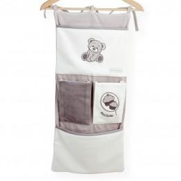 Tasche portaoggetti per lettino- Gnam il dolce