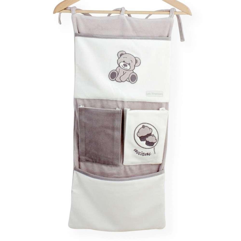 Pannello portaoggetti per lettino miam il dolce vendita - Cestini portaoggetti per il bagno ...