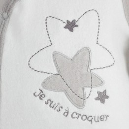 "Newborn sleepsuit ""Star"""