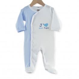Pyjama bébé été garçon J'aime mon papa