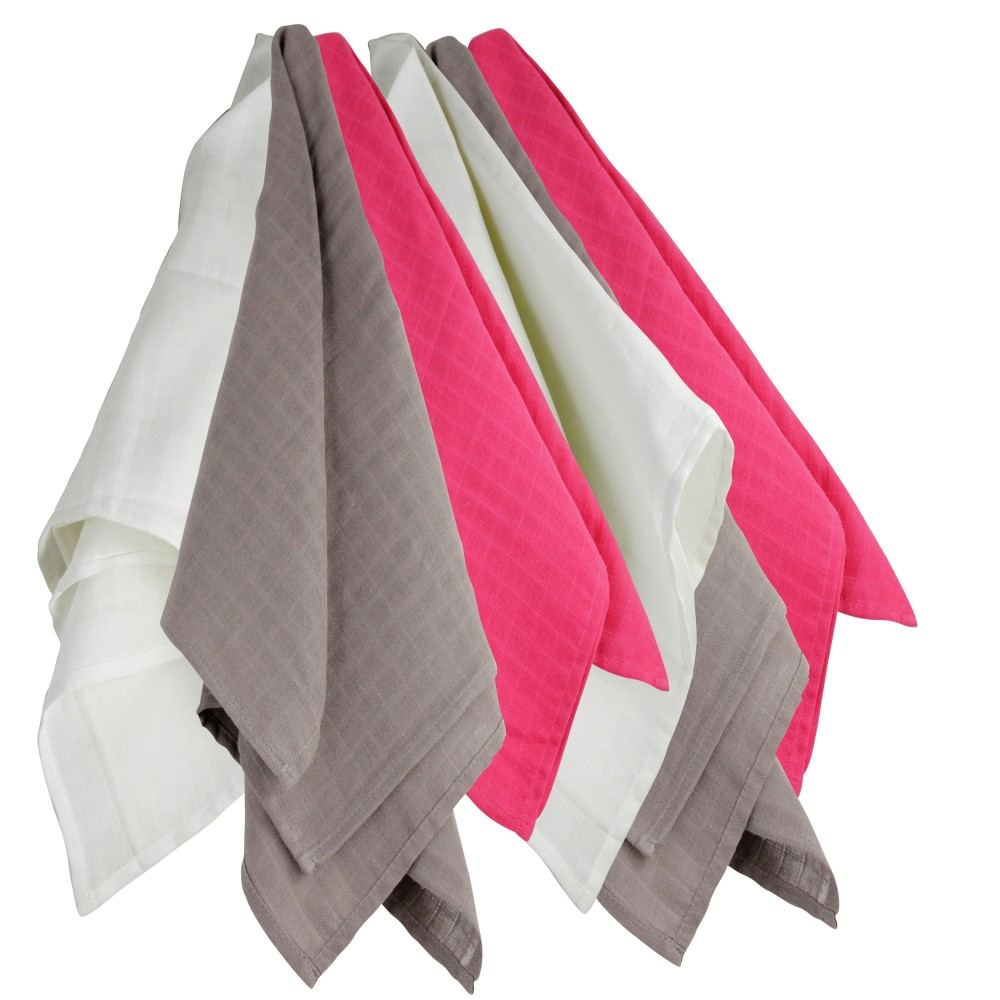 Pack of 6 cloth nappies 70*70 cms