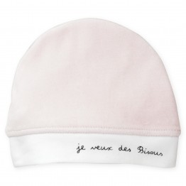 "Newborn hat ""I want kisses"""
