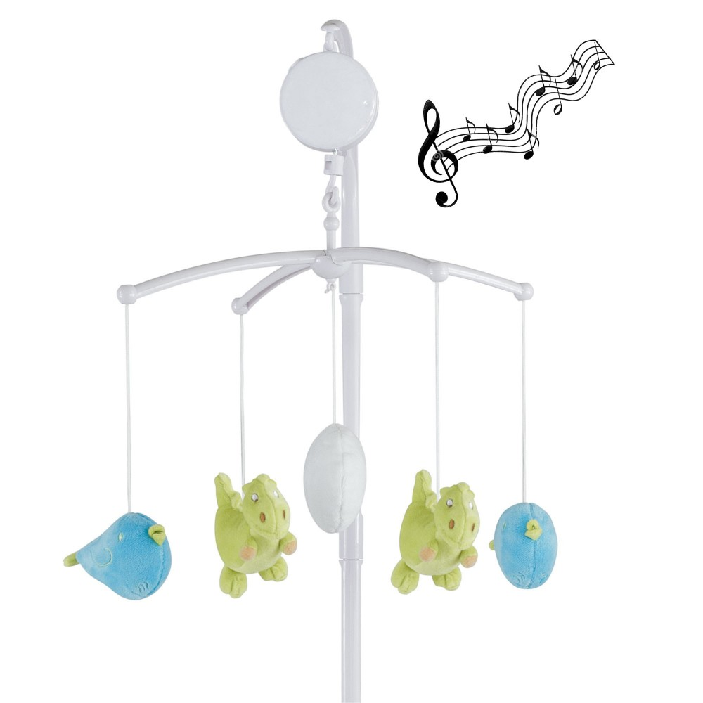 Mobile musical pas cher pour b b gar on avec peluche chouette kinousses - Mobile musical bebe fille ...