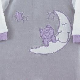 """Pyjama bébé fille """"Chats dans les étoiles"""""""