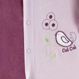 """Pyjama bébé fille """"Gazouillis"""""""