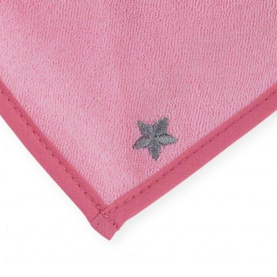 Newborn bandana bib - pink
