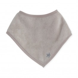 Newborn bandana bib – brownish-grey