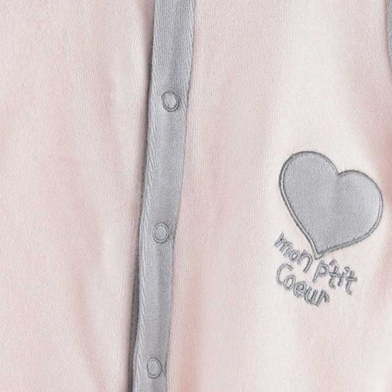 "Newborn sleepsuit ""My sweerheart"""
