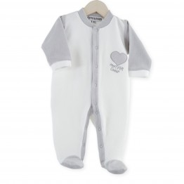 Baby sleepsuit « My sweetheart »