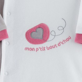 "Pyjama naissance ""Mon bout de Chou"""