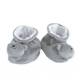 Chaussons bébé anti-dérapants Nounours