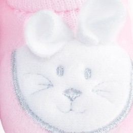 "1 pair of baby socks ""bunny rabbit"""