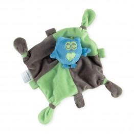"Sleepytot baby comforter with pacifier holder ""Cute Dragon"""