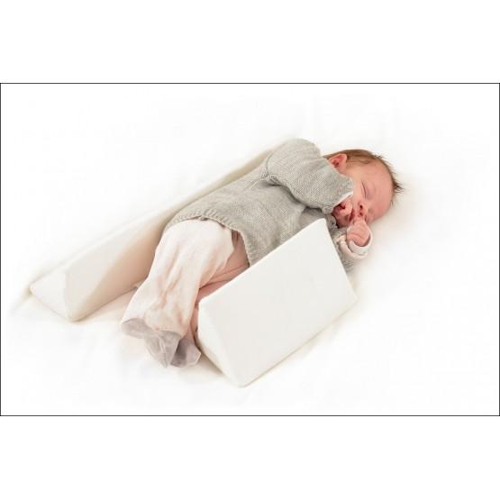 Cale bébé latéral blanc