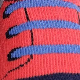 """1 par de meias bebé """"basquetes"""""""